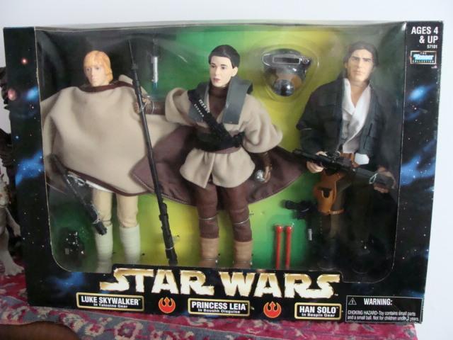 STAR WARS POF 12 3 Pack, Luke Leia Han Saanich, Victoria