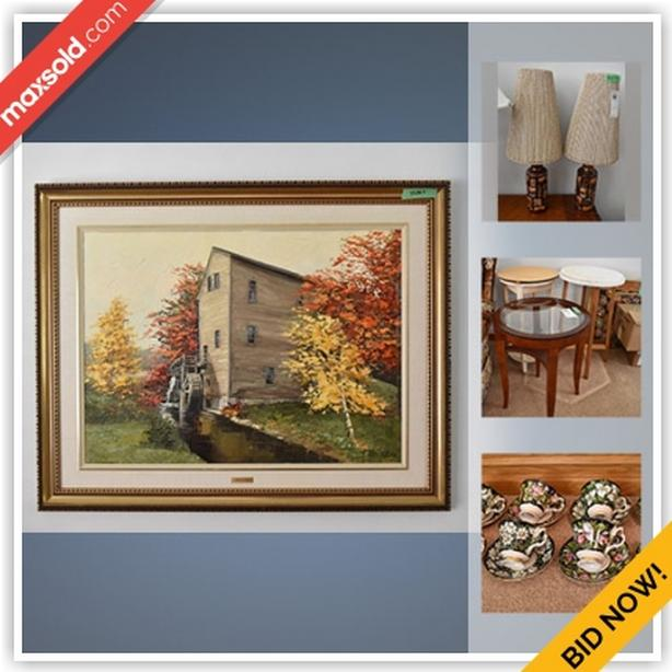 Hamilton Estate Sale Online Auction - Virginia Court