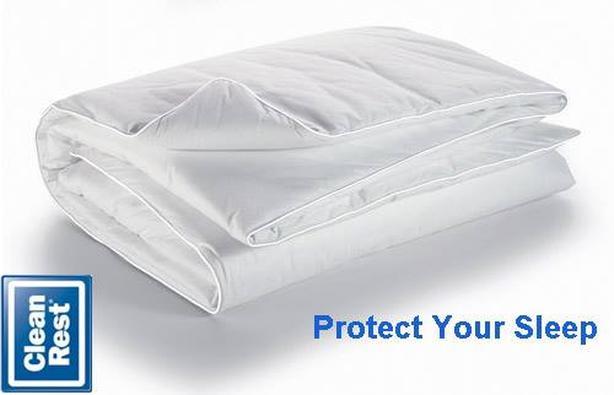 Healthy Zzz Allergen Barrier Duvet Encasement Cover - King