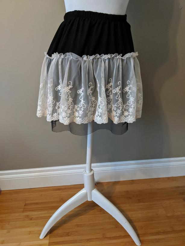 Vintage Style Lacy Skirt