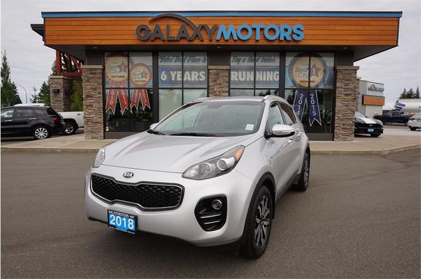 2018 Kia Sportage EX- AWD, Bluetooth, Heated Leather Front Seats