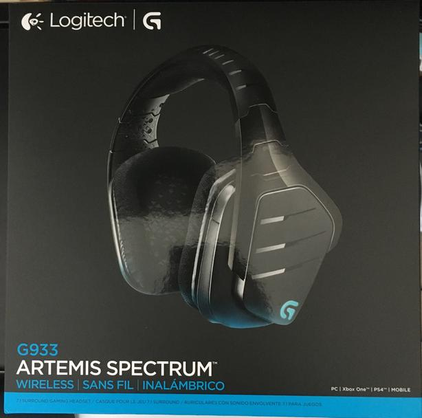 Logitech G933 Artemis Spectrum Wireless 7 1 Surround Gaming