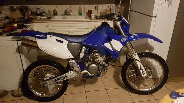 Wr 250 for sale