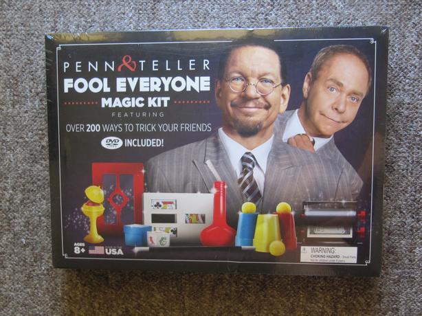  Log In needed $60 · Penn & Teller Fool Everyone Magic Kit  FACTORY SEALED