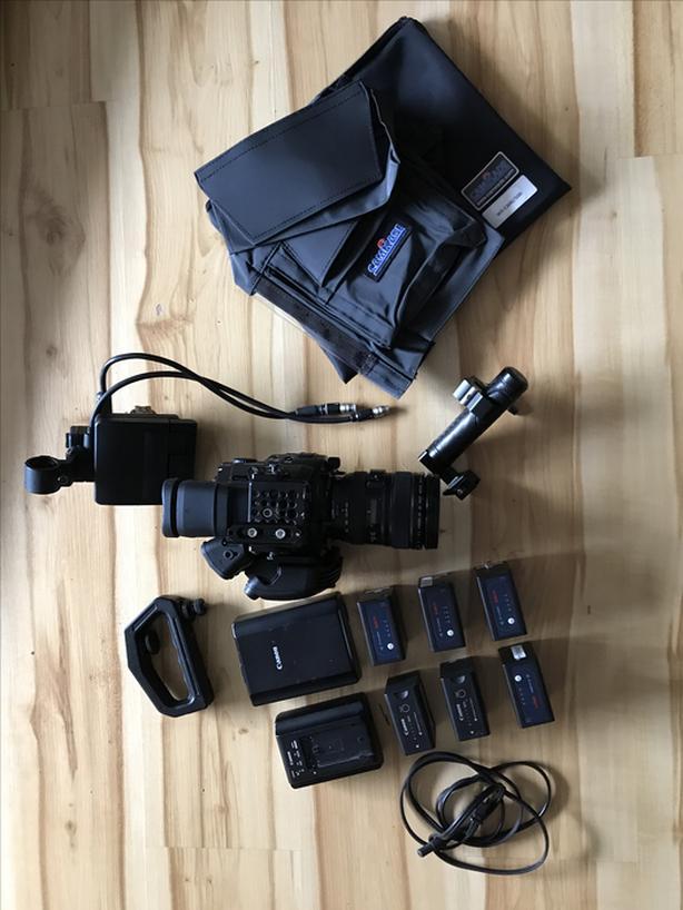 Canon C500 4K professional cinema camera