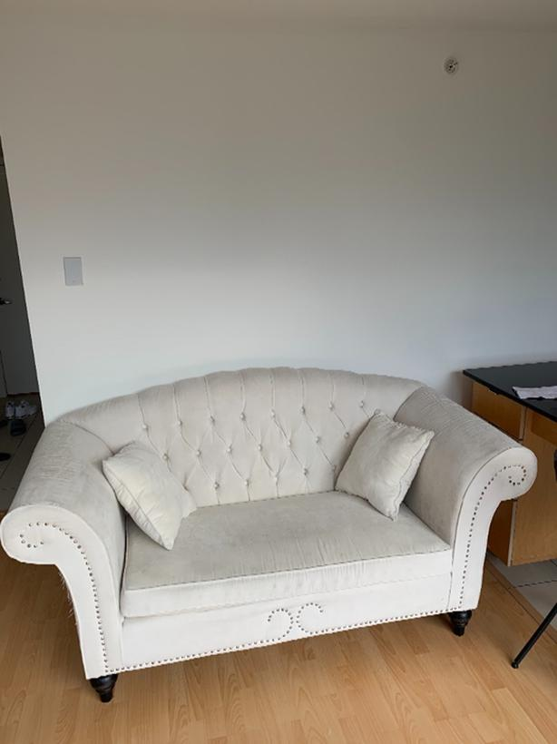 FREE:white couch