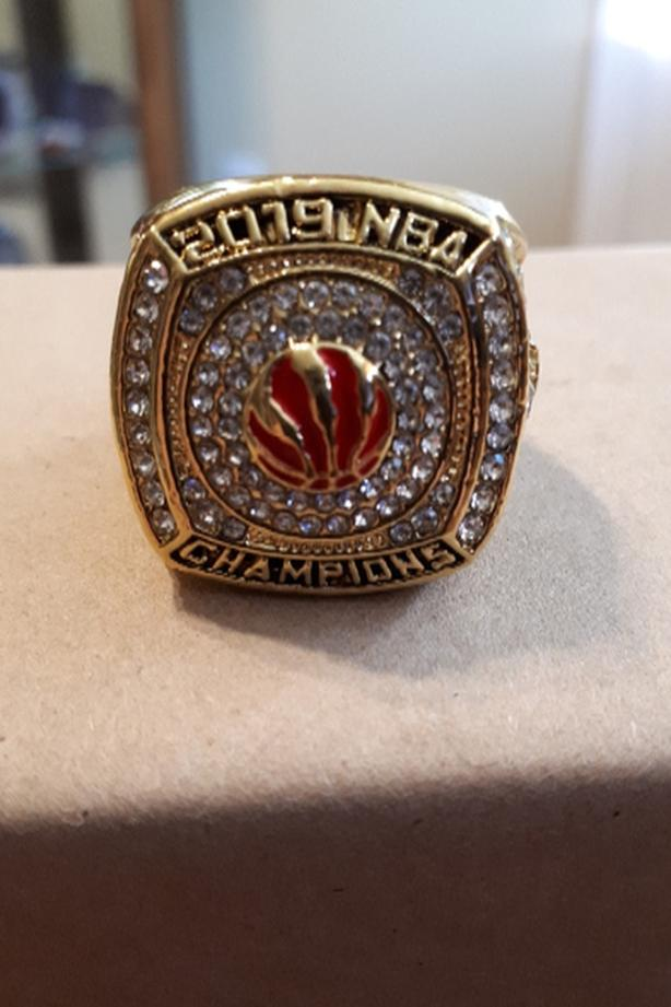 Toronto Raptors championship fan ring
