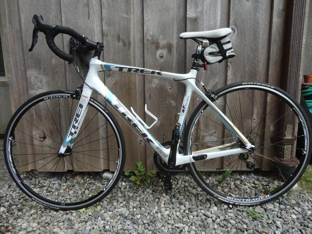 Womens Trek Madone 4.5 Road Bike, White/teal *Can Deliver*