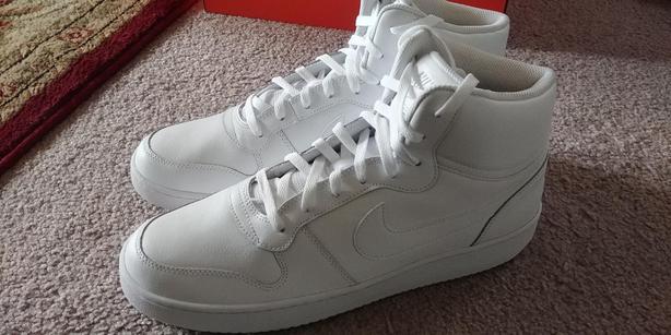 Brand New Nike Ebernon High Tops Basketball Shoes , Size 13