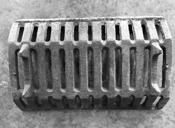 Heavy Cast Iron Fireplace Grate Log Holder Saanich Victoria Mobile