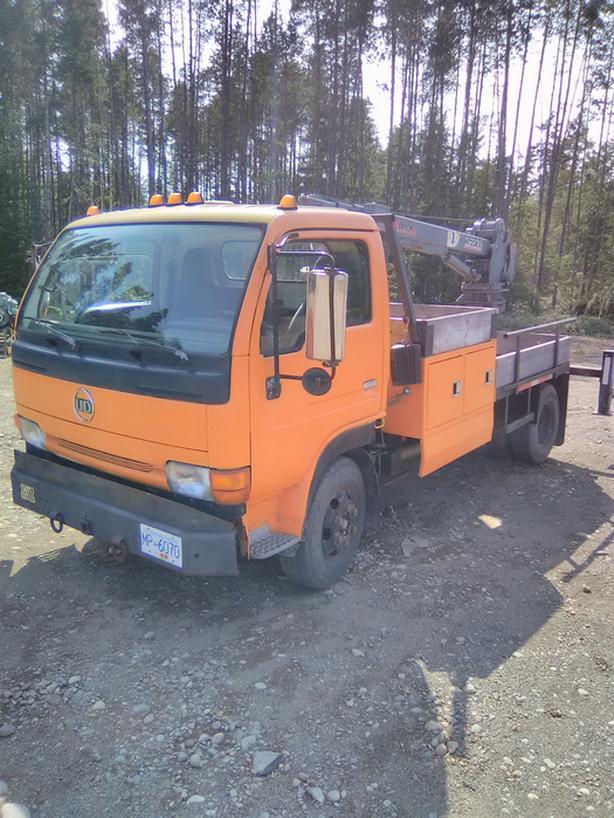 Crane Truck Nissan UD