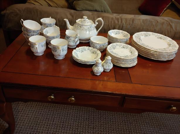 Moving! - Royal Albert Silver Maple bone china for sale