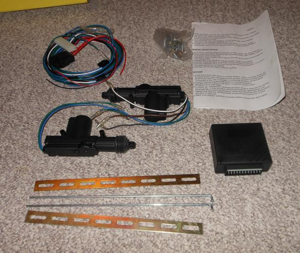 Electric actuator kit for door latches or locks, trunk lid, NIB
