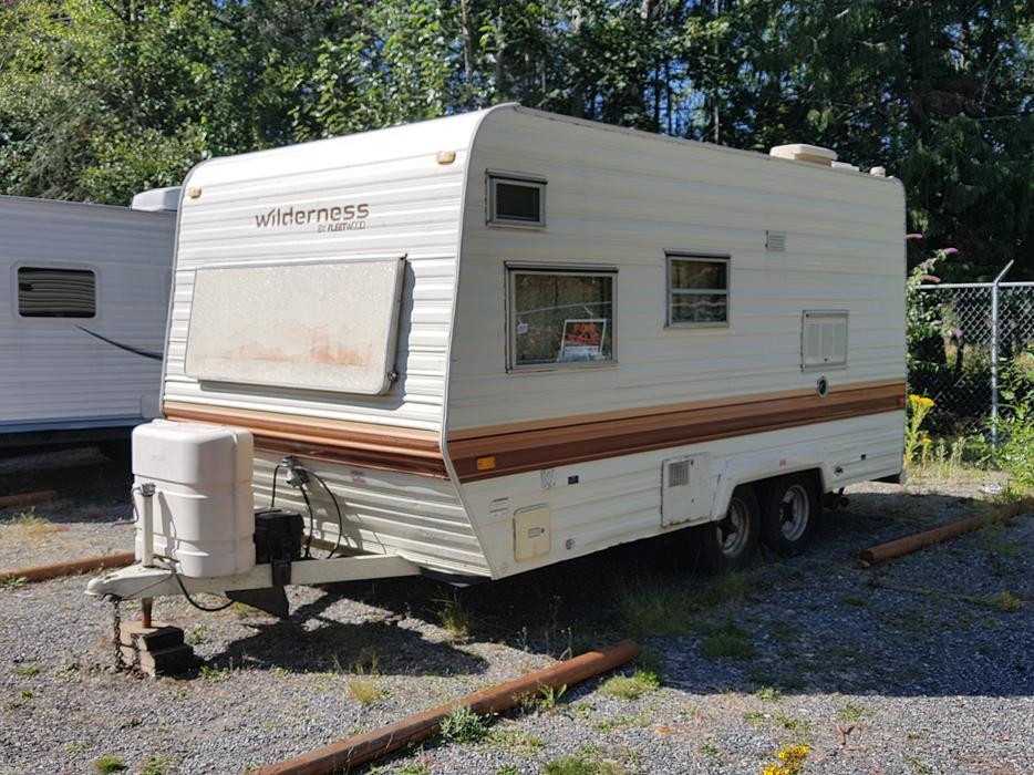 1985 Wilderness 18 ft. travel trailer Duncan, Cowichan