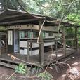 Cabin on organic farm