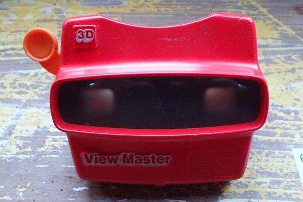 Vintage 3D  View master Tyco Toys Portland - Made in the USA