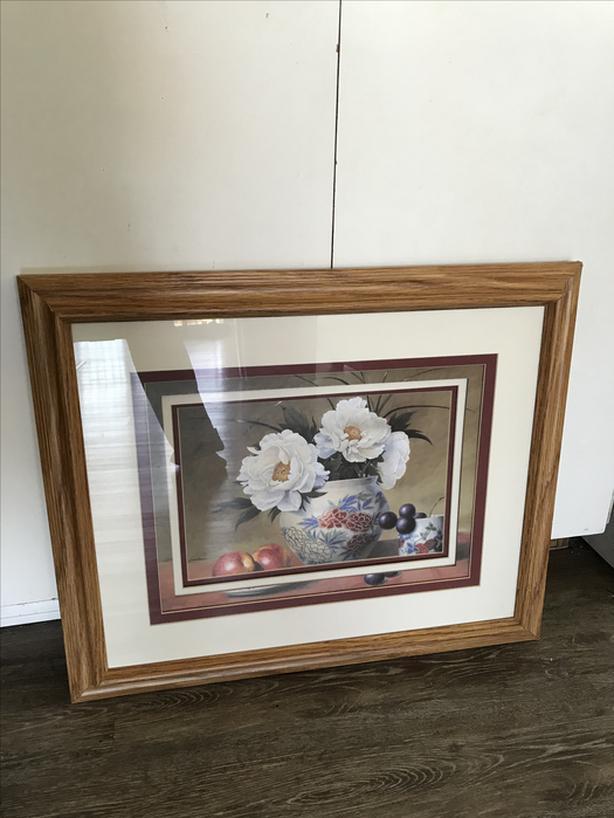 Flowers & fruit in a 5 depth frame