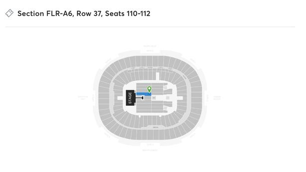 Mumford and Sons Vancouver FLOOR SEATS! REDUCED price!