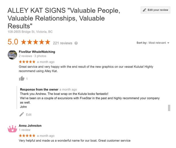 Alley Kat Signs is Hiring, but you must love dogs!