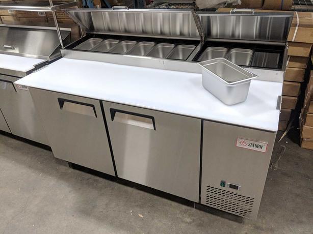"""67"""" Saturn Pizza Prep Cooler – NEW Display Floor Model"""
