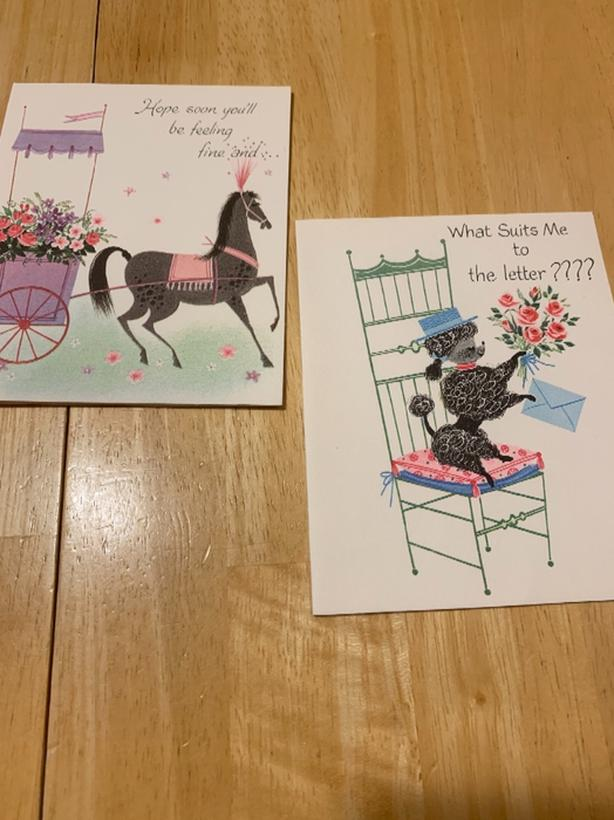 Vintage Greeting Cards (60 new old stock)