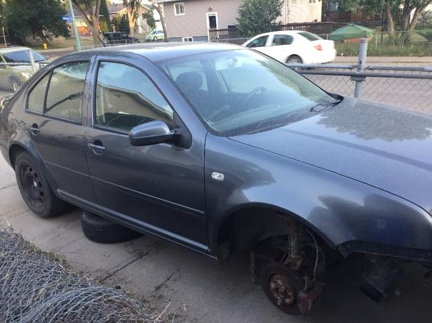VW jetta parts or whole