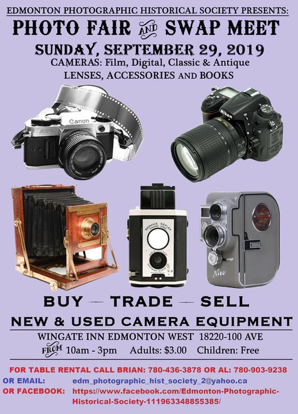 Photo Fair Photographic Swap Meet 2019