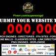 WEBSITE SUBMISSION TO ONE MILLION SEARCH ENGINES