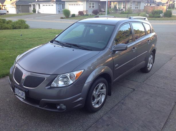 2005 Pontiac Vibe Metallic Grey