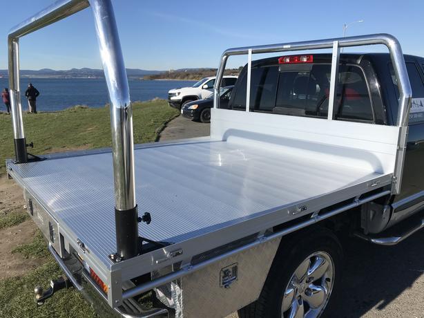 Aluminum flat deck