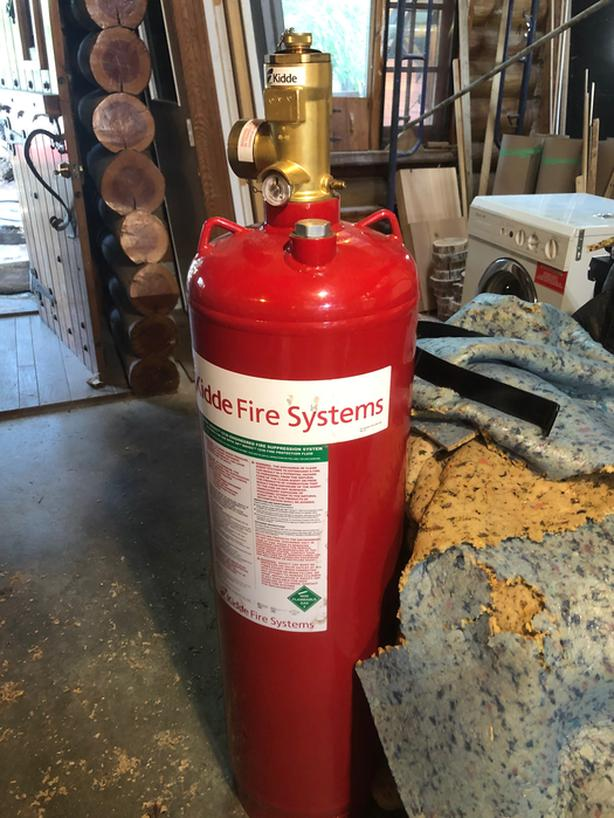 Kidde Fire Suppression System