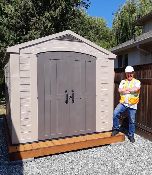  Log In needed $5 · Keter, Lifetime, Duramax etc  Shed Assembly by  Handyman Dave THE HANDY MAN :-)