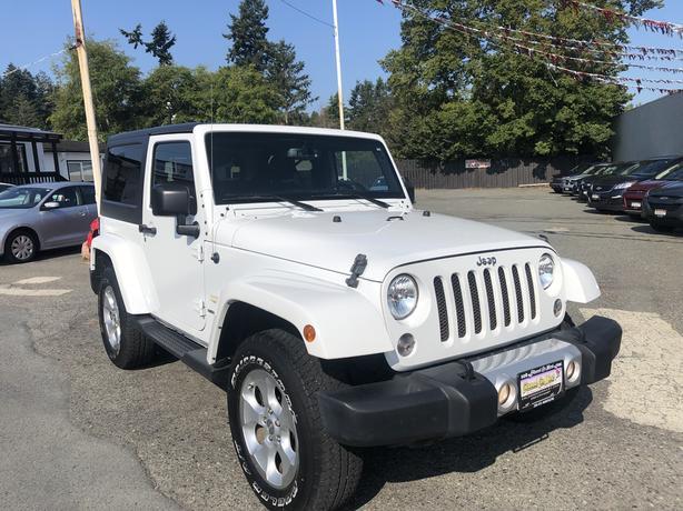 2015 Jeep Wrangler Sahara! 4X4