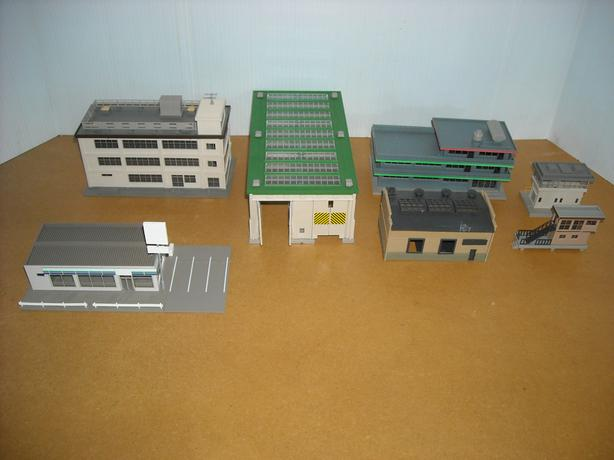 N Scale Assorted Buildings Victoria City, Victoria