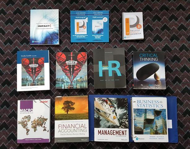 1st/2nd Year Textbooks - Telfer / Economics / English