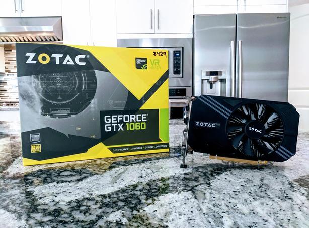  Log In needed $200 · Zotac GeForce GTX 1060 6GB | Mint Condition