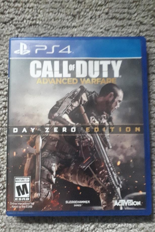 PS4 Call of Duty - Advanced Warfare Day Zero Edition