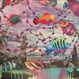 Batik Quilted Tropical Fish Wall Hanging