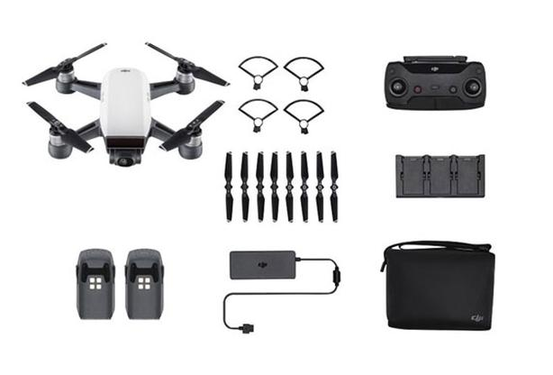DJI Spark Drone - Fly More Combo (like new)