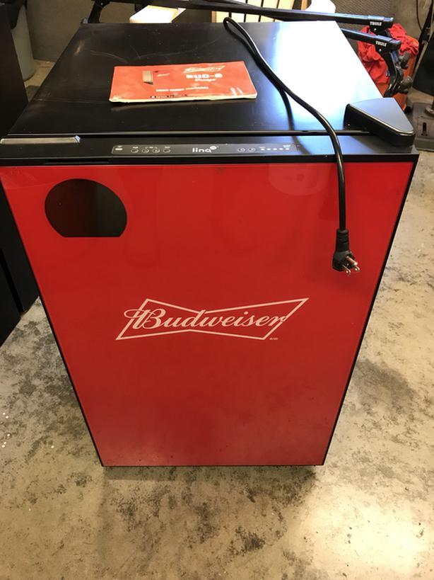 Budweiser beer fridge