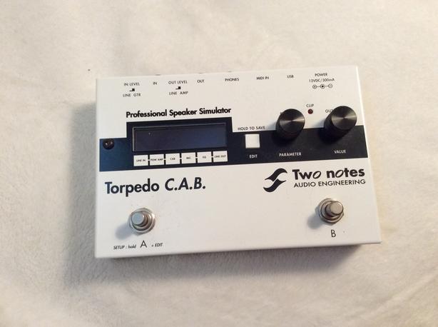 Torpedo CAB two notes speaker impulse