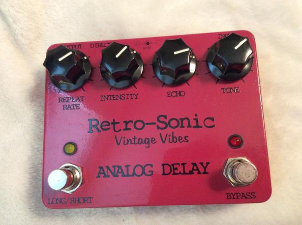 Retro sonic analog delay
