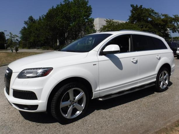2011 Audi Q7 TDI quattro Premium With 3rd Row Searting
