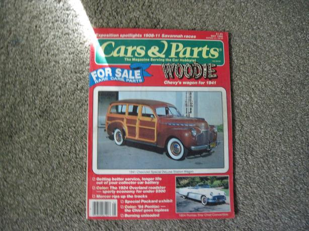 FOR THE OLD CAR ENTHUSIASTS