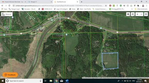 NEW LISTING - 13 ACRES  MINK POINT