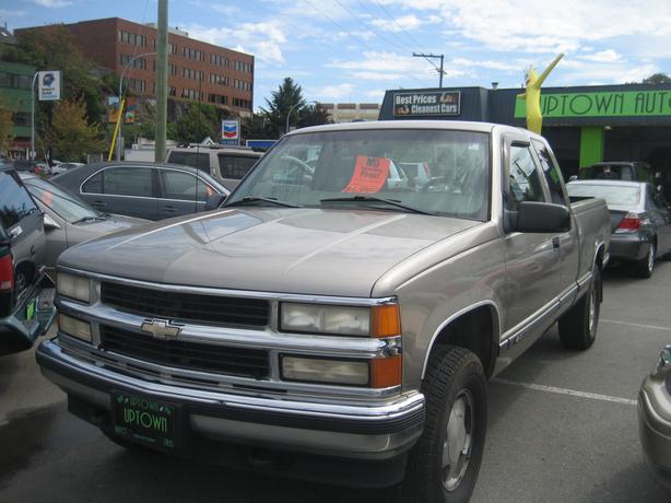 1998 Chevy-1500 4x4 extra cab