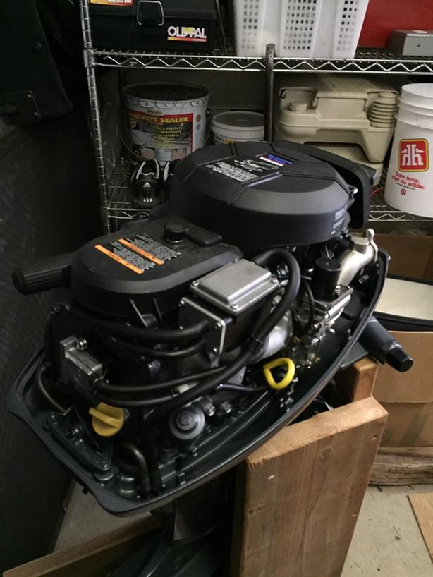 9.9 Yamaha boat motor