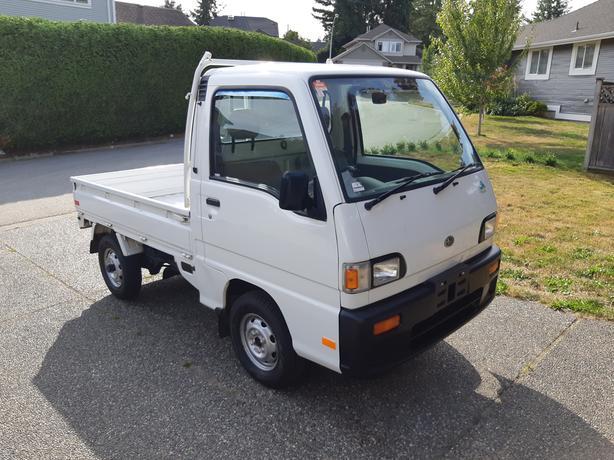 LIKE NEW! RARE 48k AT AWD Supercharged Subaru Sambar Mini truck