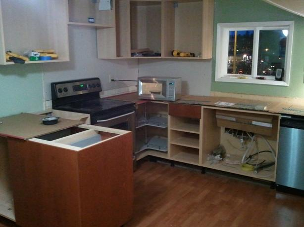 WANTED: FREE Kitchen Cabinets