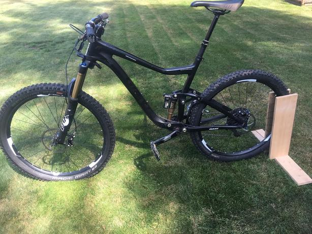 2014 Reduced Giant Trance Advanced XC size L